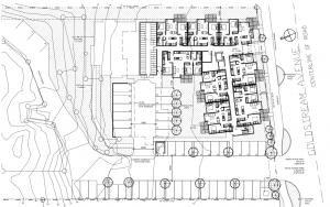550 Goldstream Site Plan