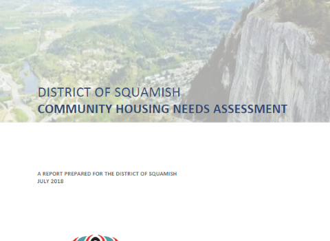 Affordable Housing Program: District Of Squamish