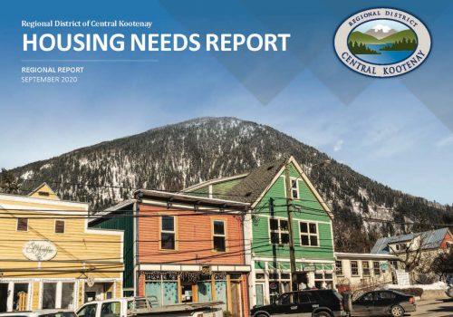 RDCK Housing Needs